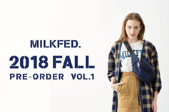 2018 FALL COLLECTION PRE ORDER