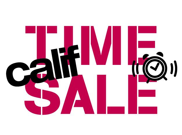 オフィシャルオンラインストアcalif time sale 12 21 金 12 25 火