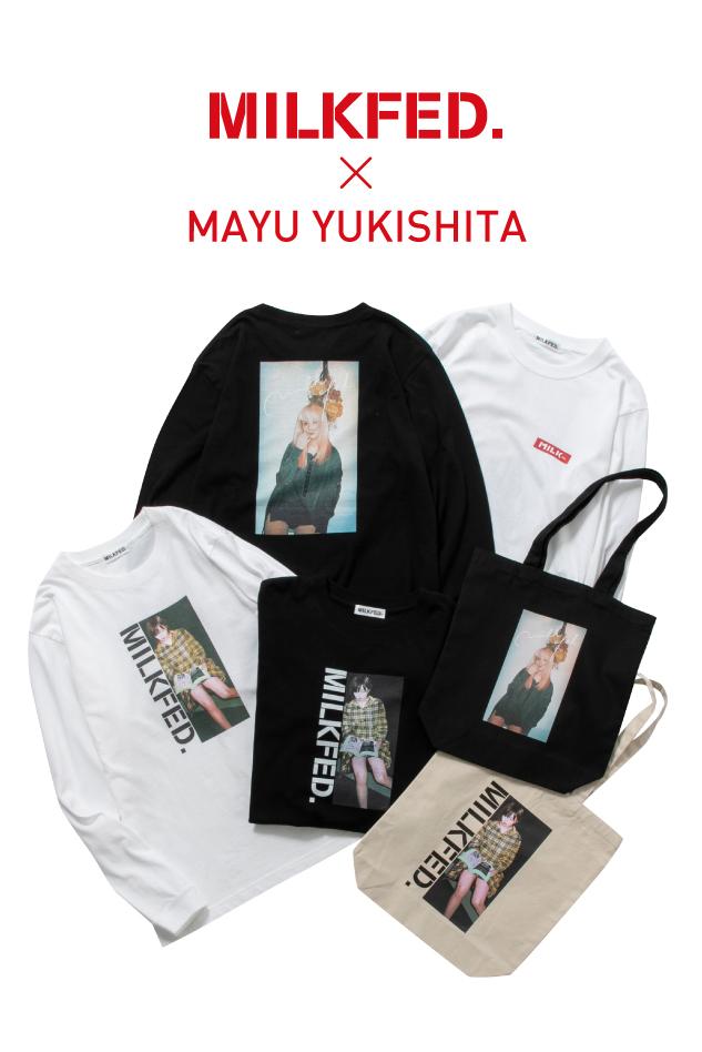 MILKFED.× MAYU YUKISHITA curated by YASUMASA YONEHARA發售!!